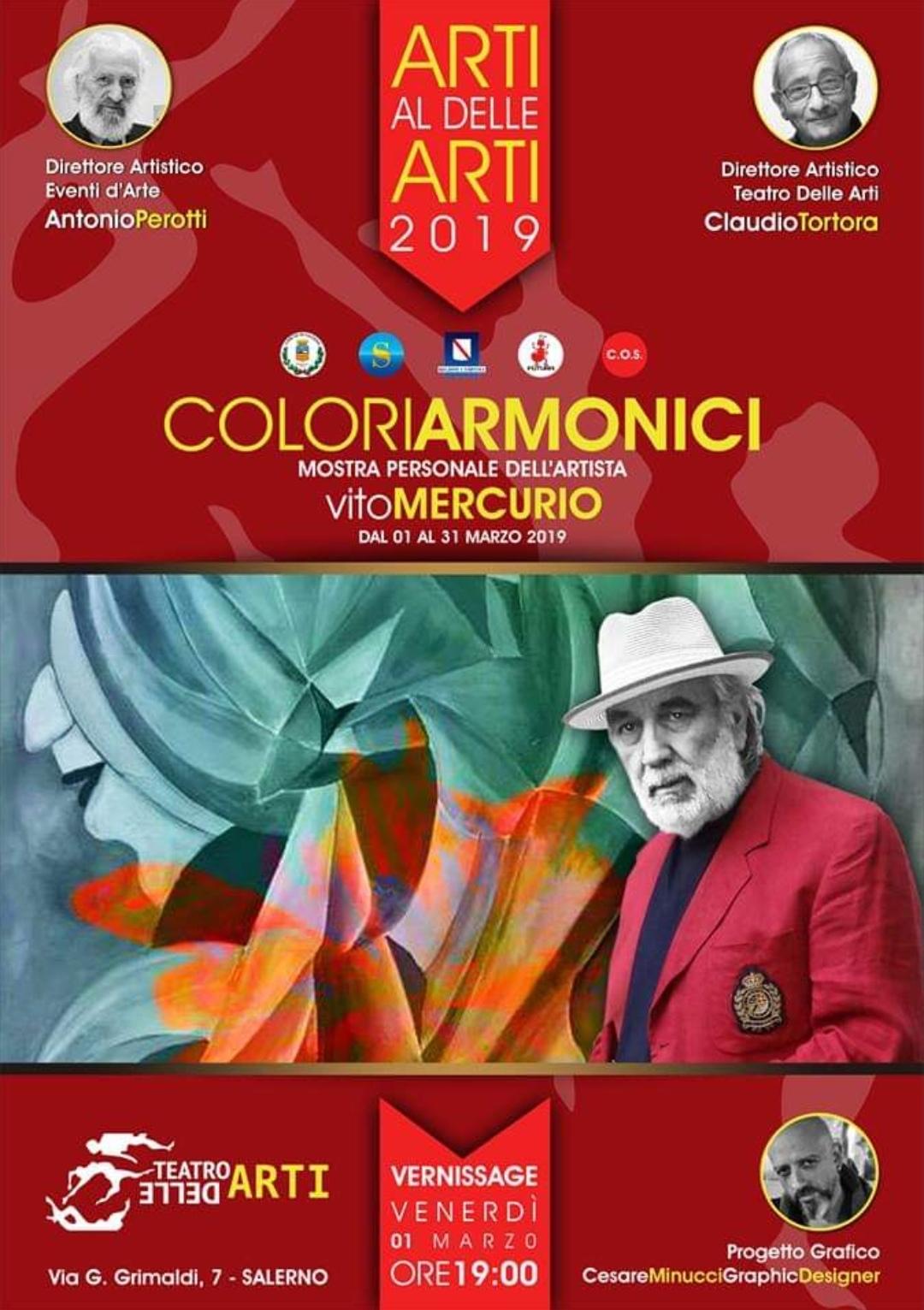 Colori armonici-personale Vito Mercurio