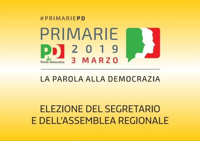 Primarie PD regione campania 2019-1