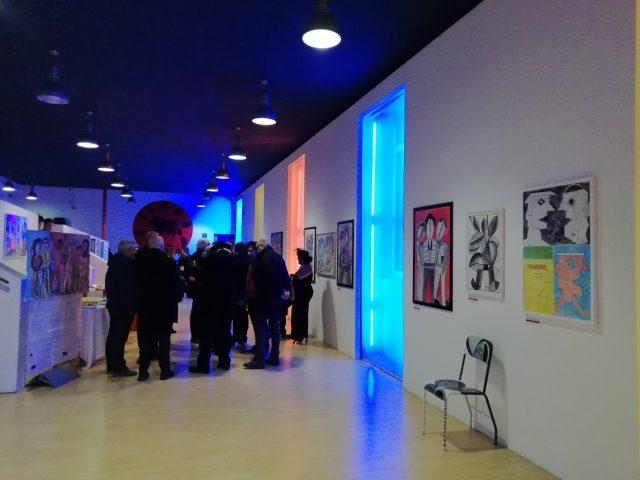 Mostra di arte contemporanea-di Vito Mercurio-Teatro delle Arti-Salerno1