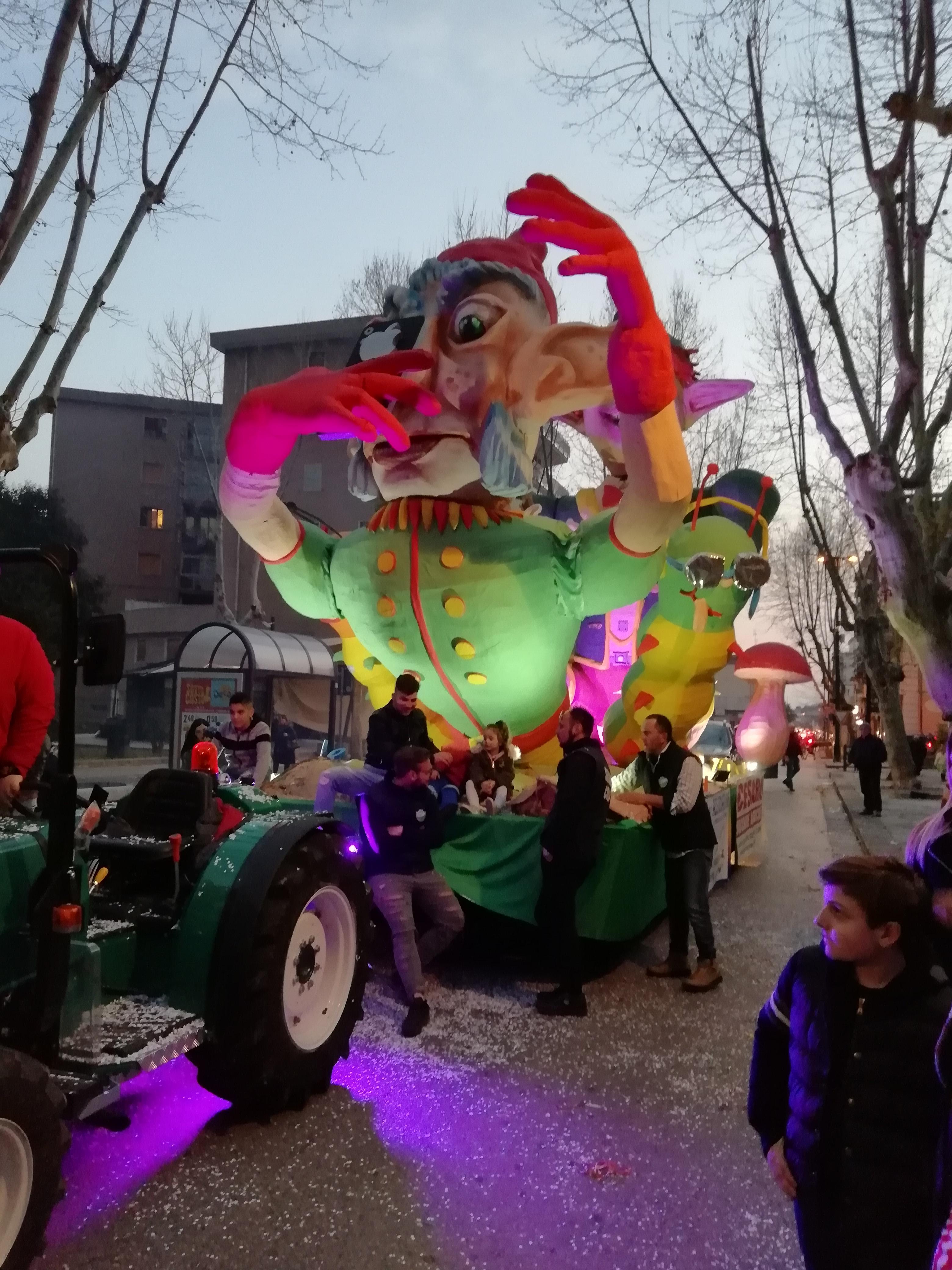 Carri allegorici Carnevale delSele2019-2