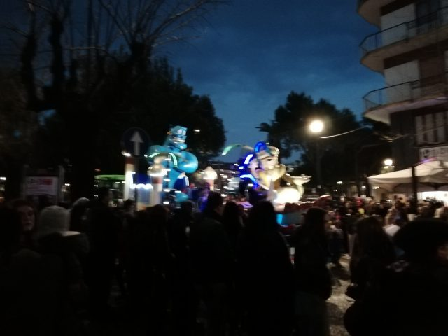 Carri allegorici-Carnevale del sele2019