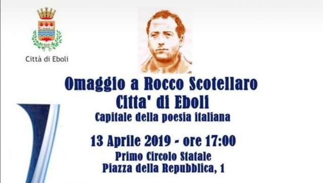 Eboli omaggio a Rocco Scotellaro