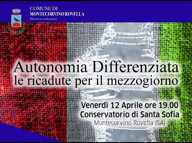 Autonomia Differenziata-Convegno Montecorvino Rovella