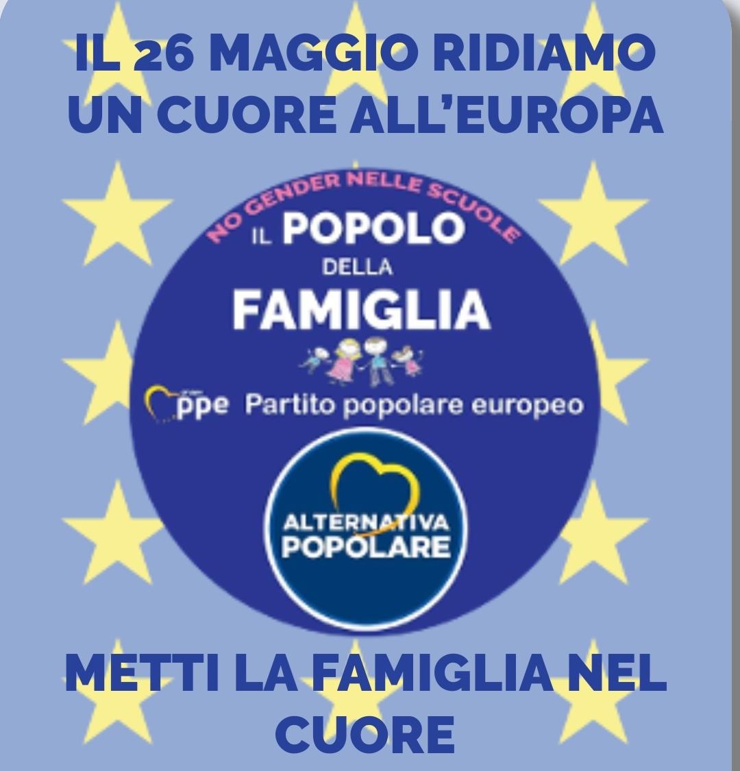 Elezioni Europee - Liste Popolo della Famiglia