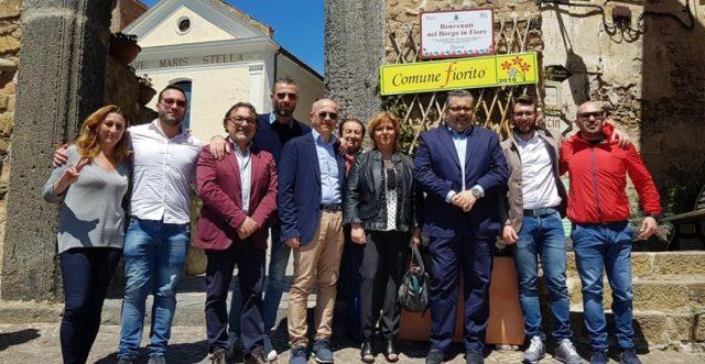 Sindaco Adamo Coppola-Borgo in Fiore-Agropoli 2019