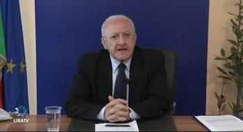 Vincenzo De Luca a Lira TV