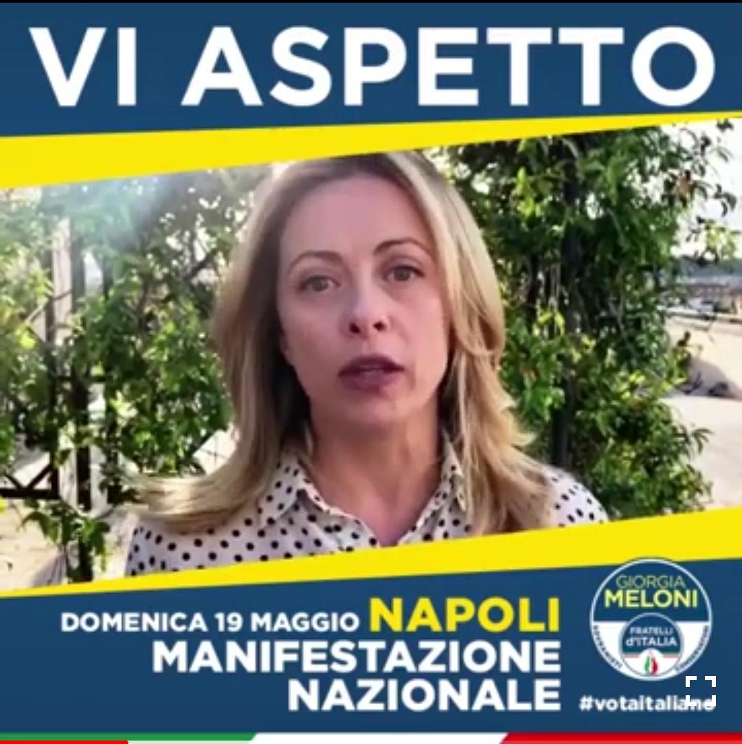 Meloni-manifestazione-FdI-Napoli