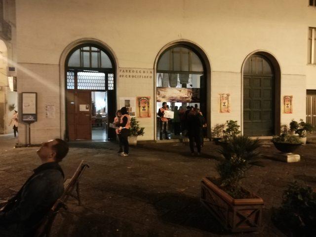 Evangelizzazione di Strada al crocefisso Salerno3