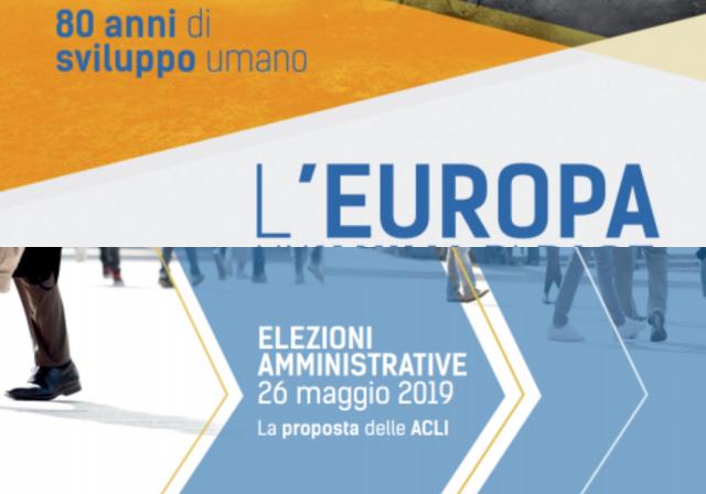 Europee e Amministrative appello ACLI
