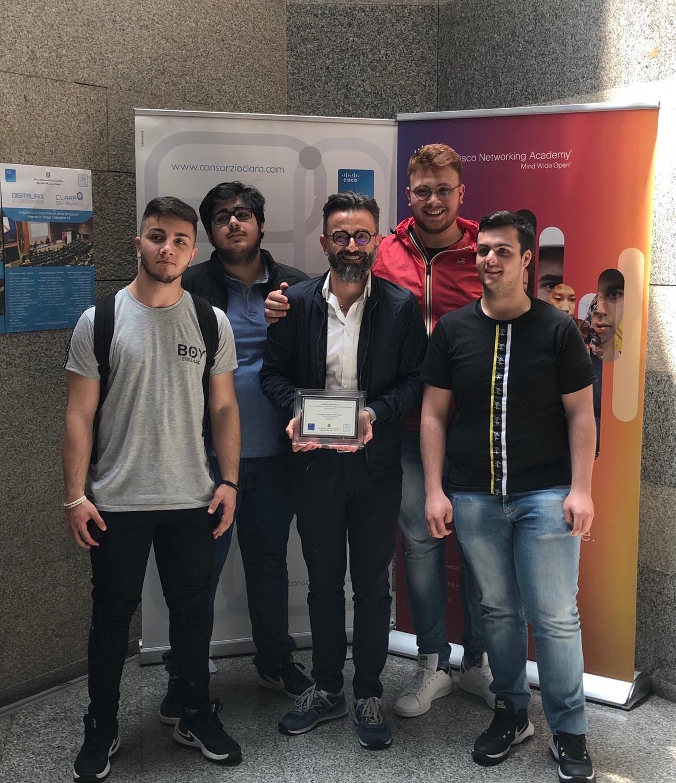 Fabio Naponiello-alunni-premiati-Award