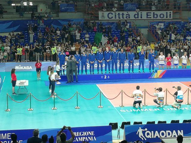 Universiadi 2019 Palasele finale Volley femminile Medaglia d'Argento