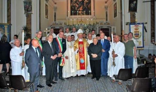 60 del sacerdozio di don Enzo Caponigro con Mons Bellandi