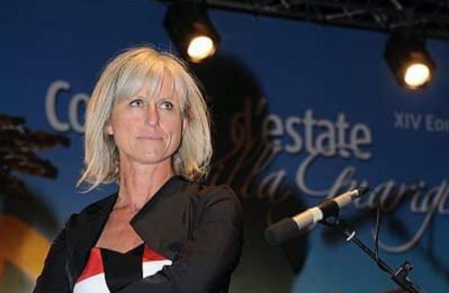 Antonia Willburger Assessore alla cultura Salerno