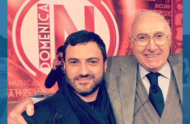 Massimo Bonelli con Pippo Baudo