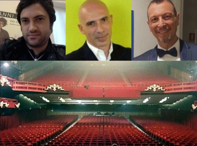 Bonelli-Salini-Amadeus-Festival Sanremo 2020