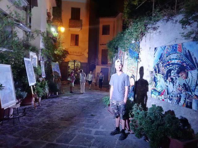 Pavel Petraglia e la sua mostra