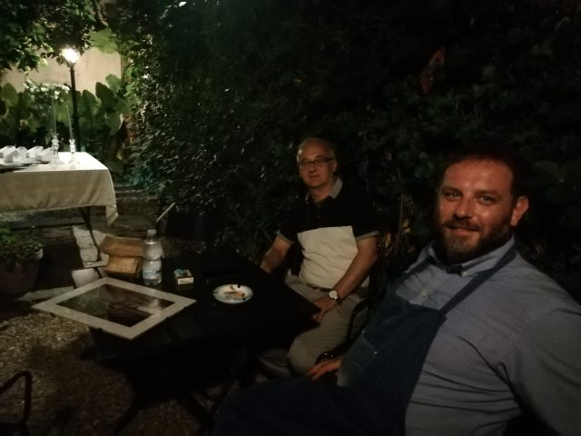 Relax nel Giardino storico Vacca De Dominicis con Costantino Vacca De Dominicis e Giovanni Sparano