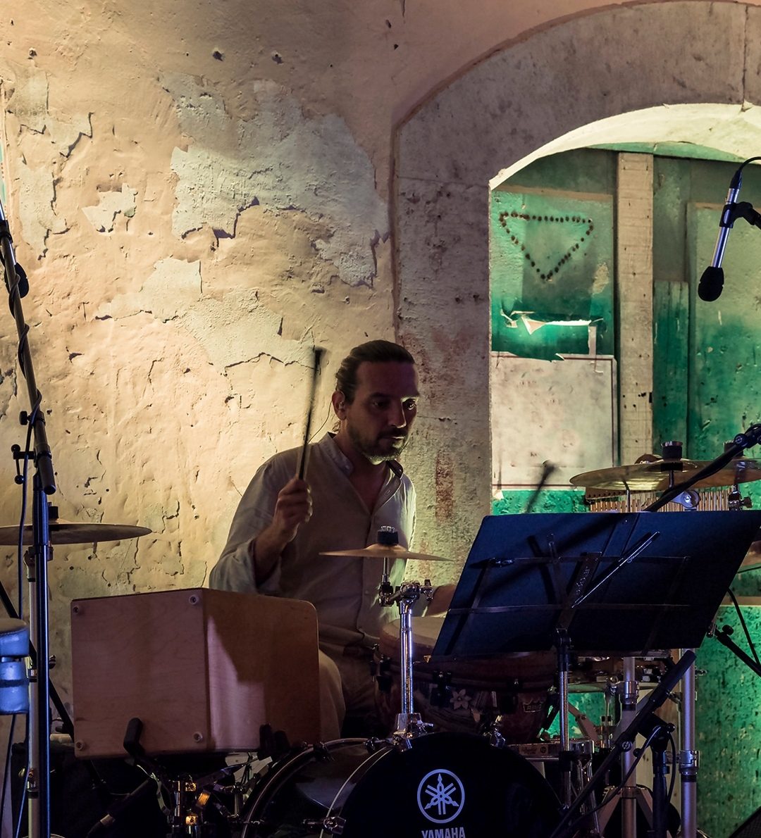 Gianluca Mercurio-percussioni-Foto Daniela Staglioli