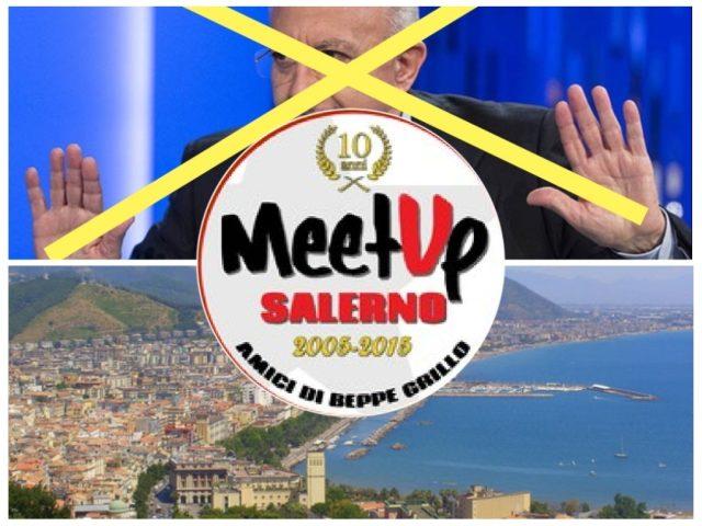 Meetup M5S-Vincenzo De Luca-Salerno