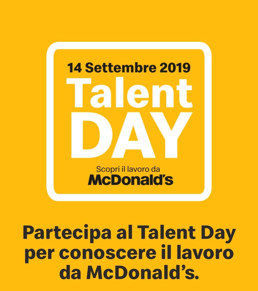 Talent Day-McDonald's