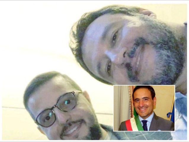 Selfie Michele Matrone-Matteo Salvini-Pasquale Aliberti