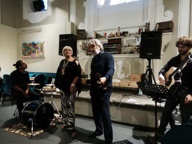 Vito Mercurio-Giuseppina Pecoraro-vernissage Graall Nocera Inferiore