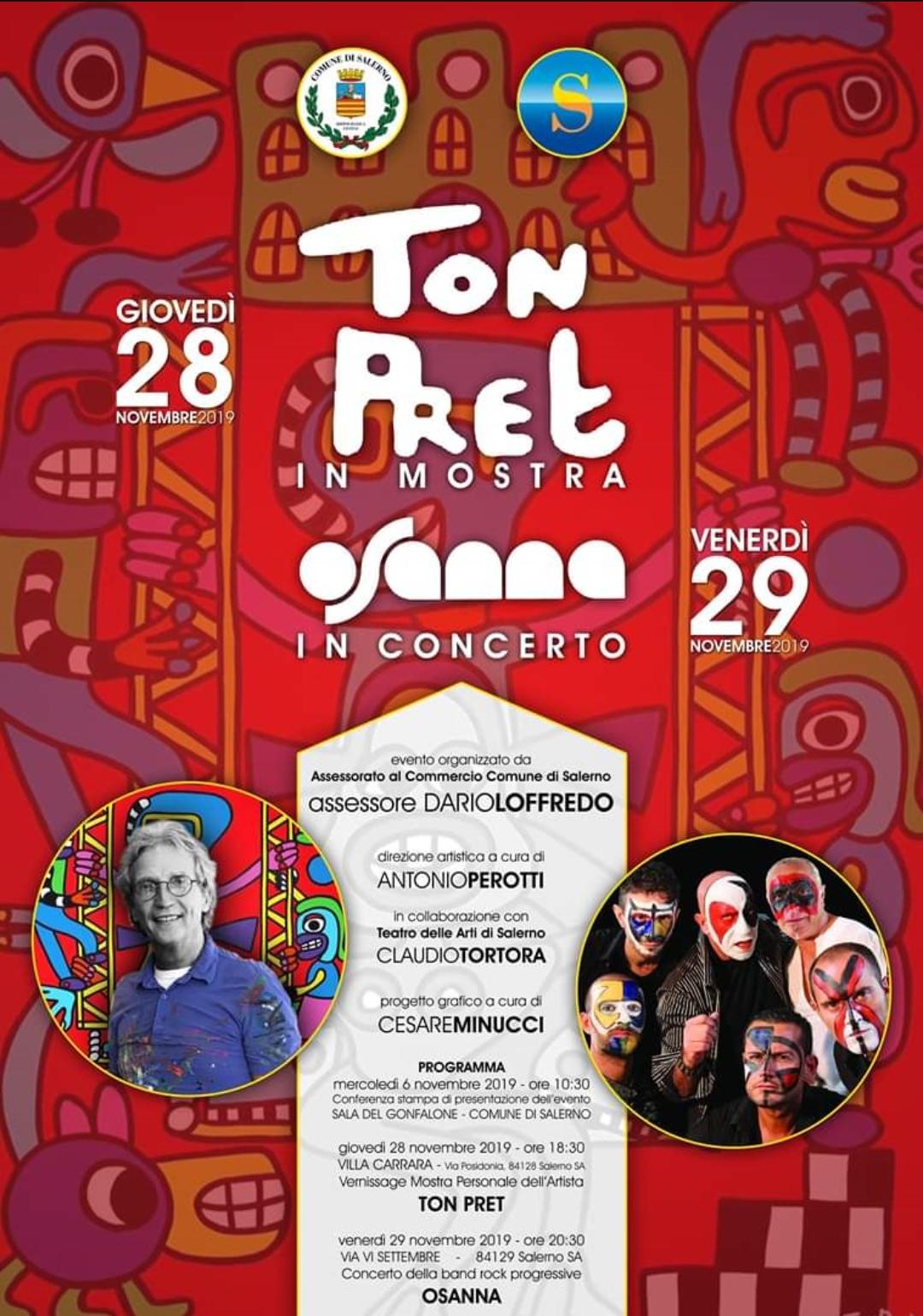 Mostra Ton Pret-Concerto Osanna- Salerno
