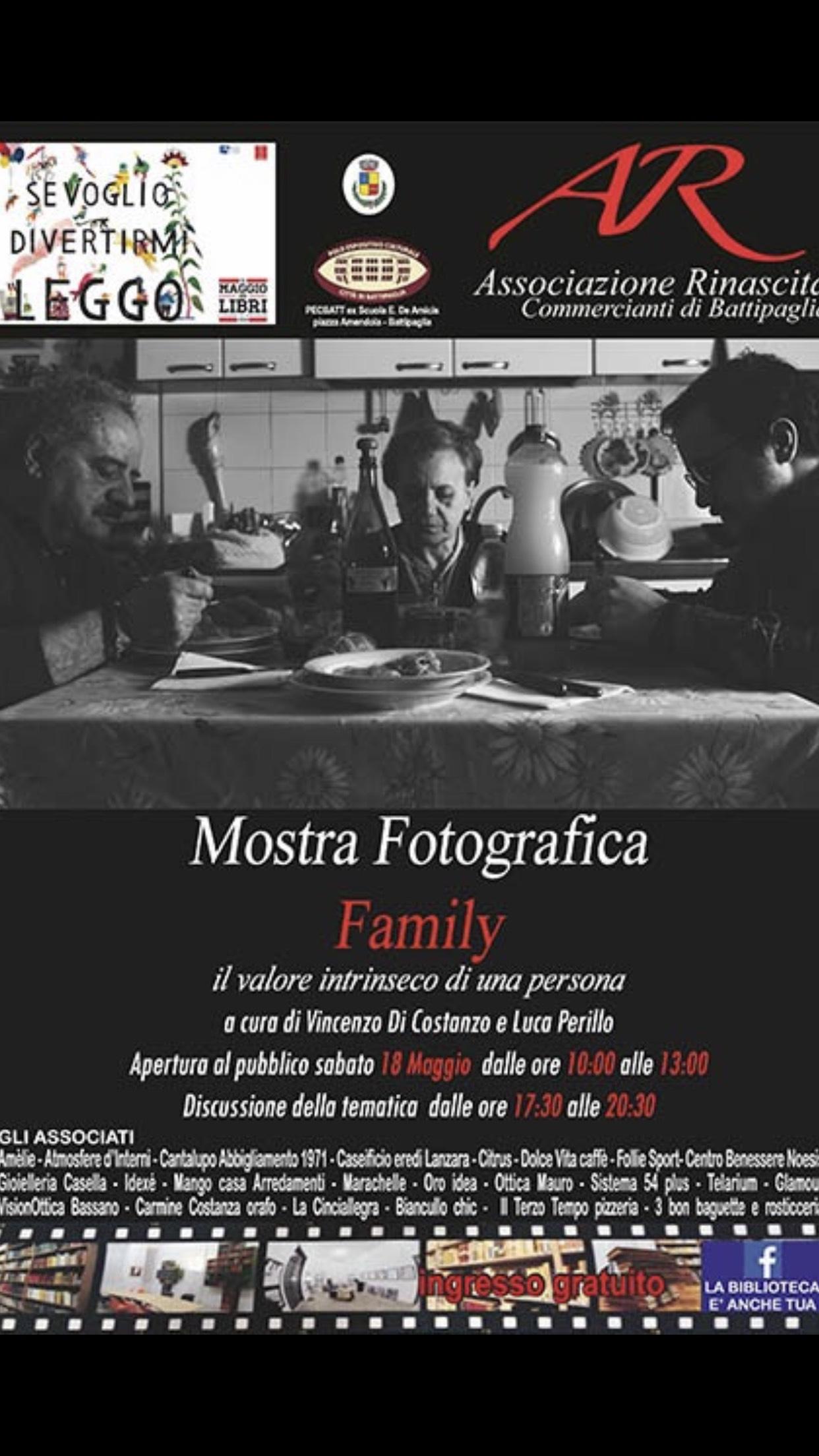 Battipaglia - Mostra fotografica-Family