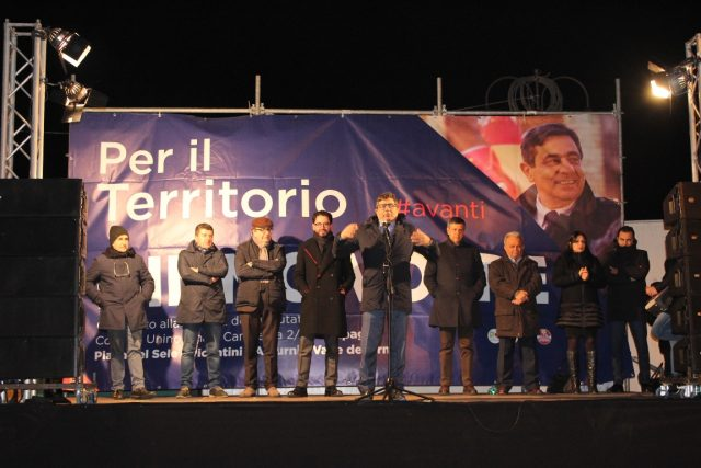 Mimmo Volpe-Bellizzi-Chiusura campagna elettorale