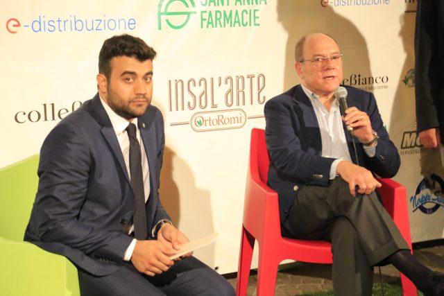 Andrea Volpe-Carlo Verdone-Premio Fabula 2016