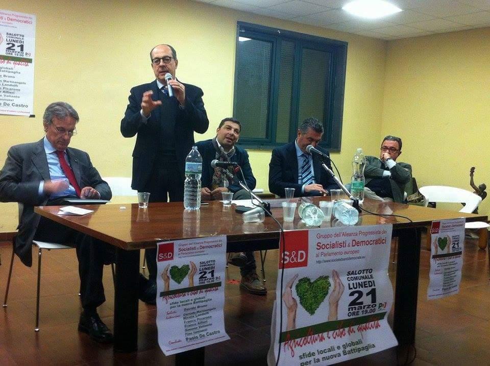 Iannuzzi-De Castro-Lanaro-Alfieri-Martinangelo-Battipaglia-convegno-agricoltura