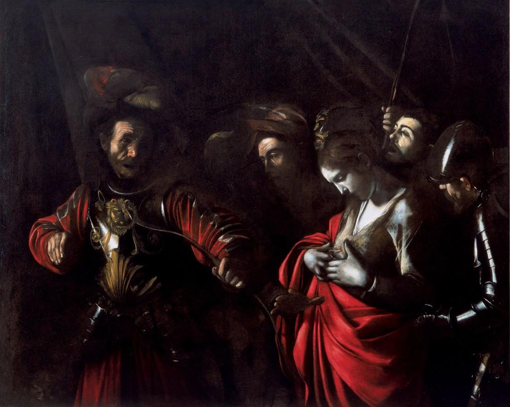 Il Martirio di Sant'Orsola sconfitta dal tiranno 1610