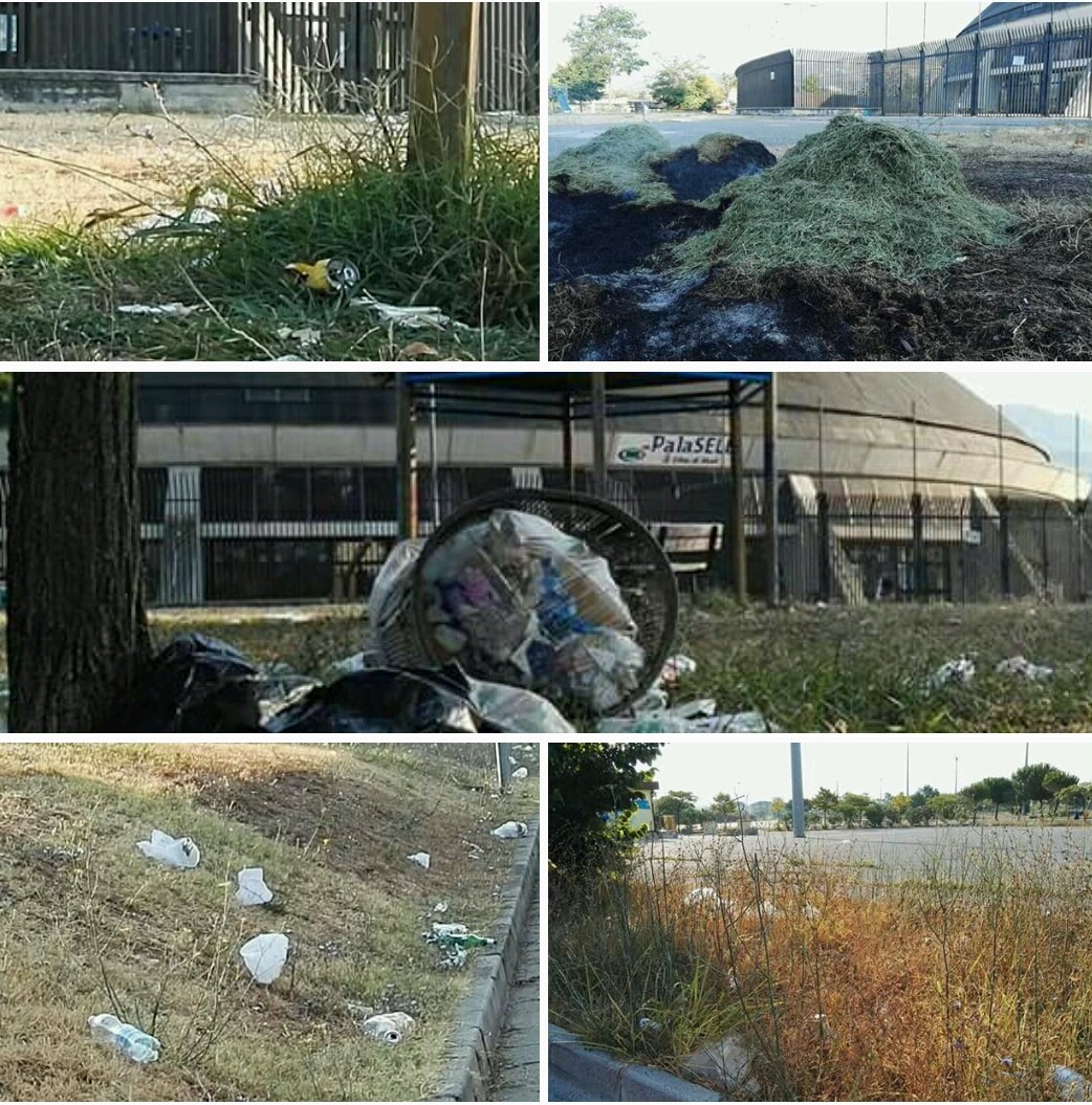 Impianti sportivi-Stadio Dirceu-Palasele-Eboli-