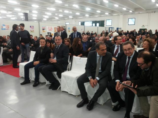 Inaugurazione-Dicanto Spa-pubblico-autorità-
