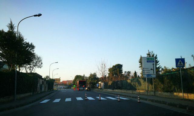 Incrocio via Gonzaga Battipaglia