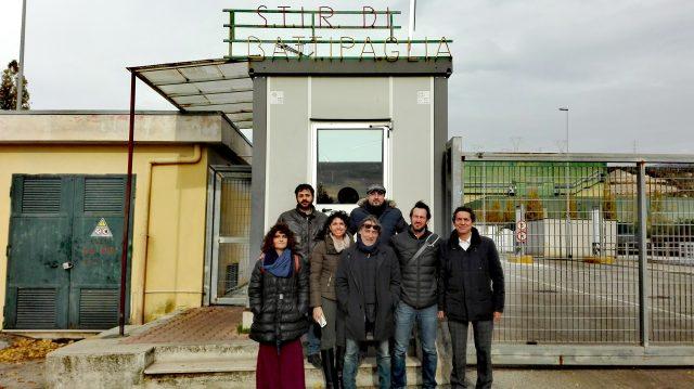 Ispezione M5S allo Stir di Battipaglia-Tofalo-Nugnes-Cammarano-Cioffi