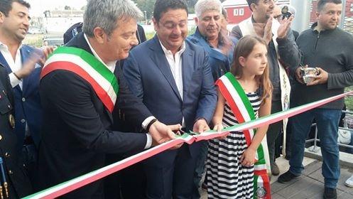 Italo Voza-Taglio Nastro-Piscina comunale