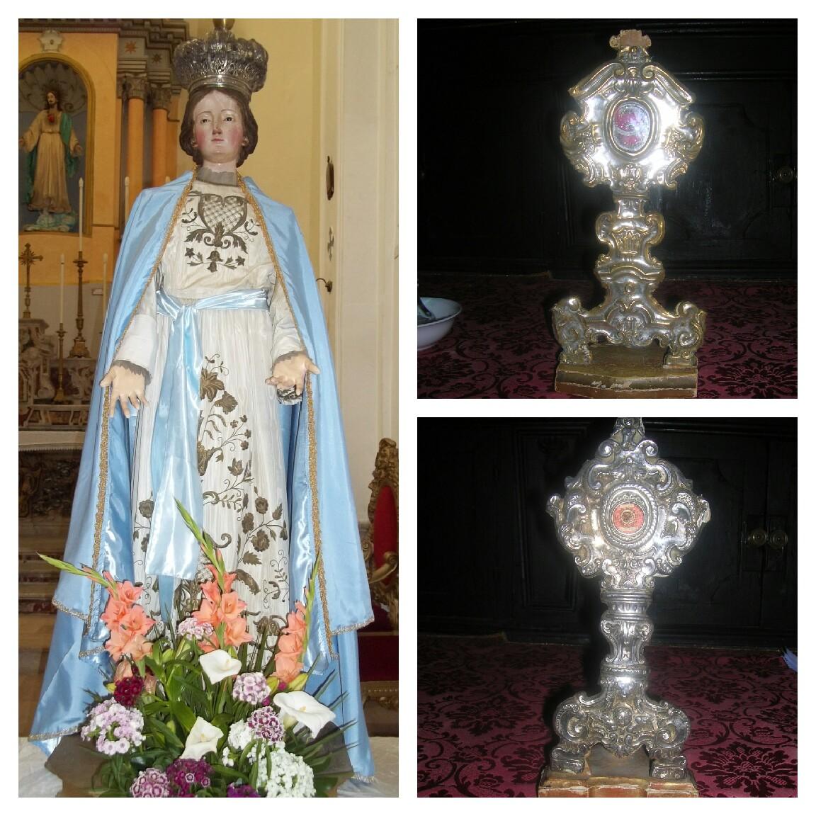 La Vergine-Reliquiari