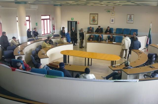 Lavoro-Occupazione-aula-consiliare di Eboli