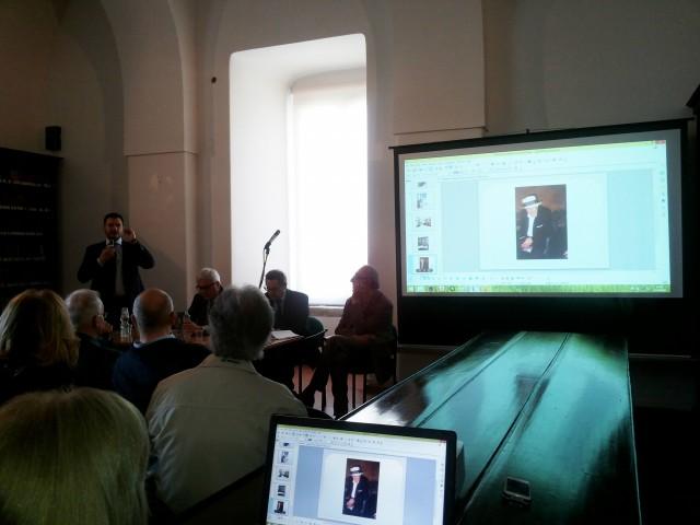 Liberato Martucciello-Intitolazione Sala Antica Biblioteca-Paolo Merola