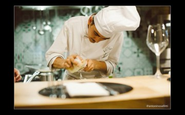 Lo chef del vinile Giovanni Sorrentino, tra i migliori dieci chef d'Italia under 35