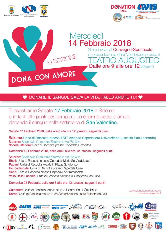 Locandina - VI Edizione Dona con Amore