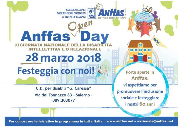 Anffas Open Day 2018