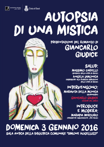 """""""Autopsia di una mistica"""" Locandina"""