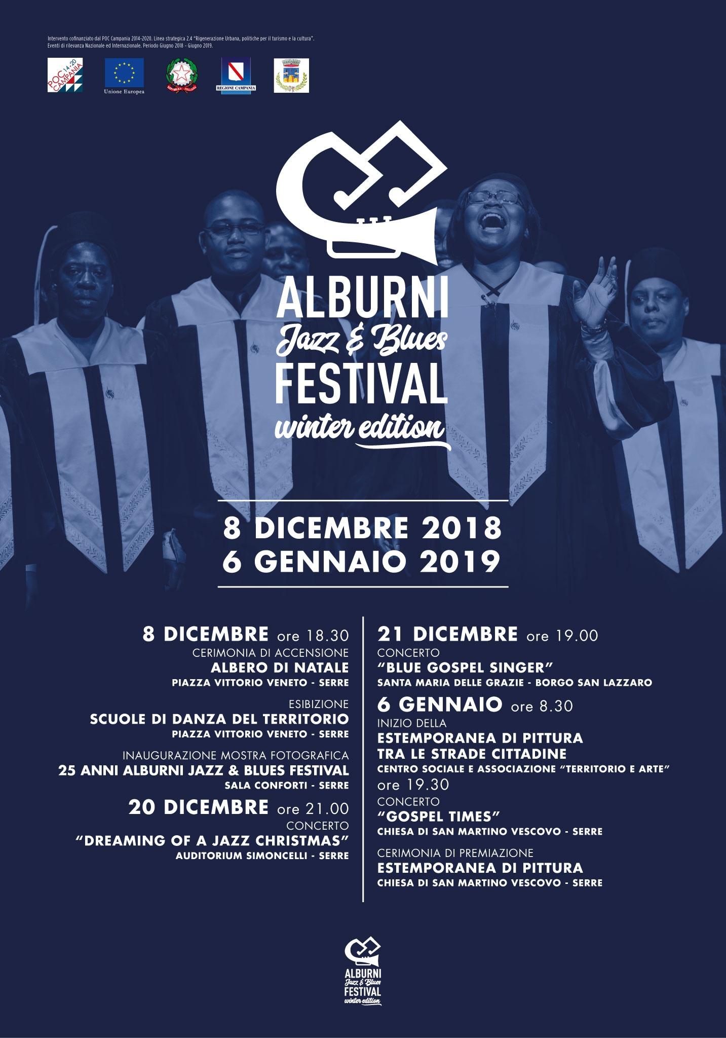 Alburni Jazz e Blus Festival winter edicion Serre