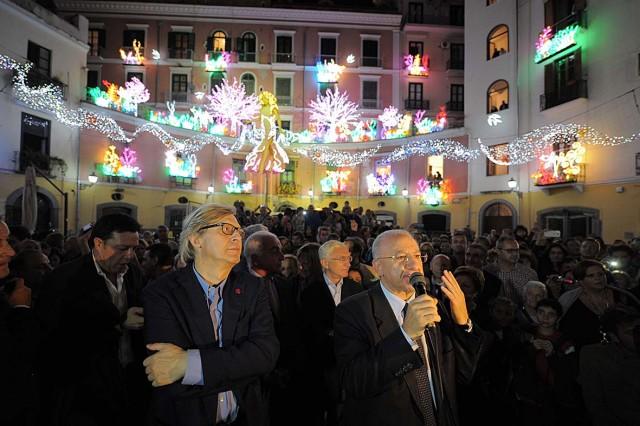 Luci-dArtista-2013-Vincenzo-De-Luca-Vittorio-Sgarbi-3.
