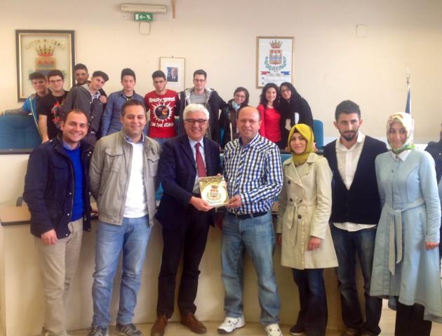 Luigi-Monaco-Massimiliano-Atrigna-Martino-Melchionda-Muammer-Inalcuk-studenti-turchi