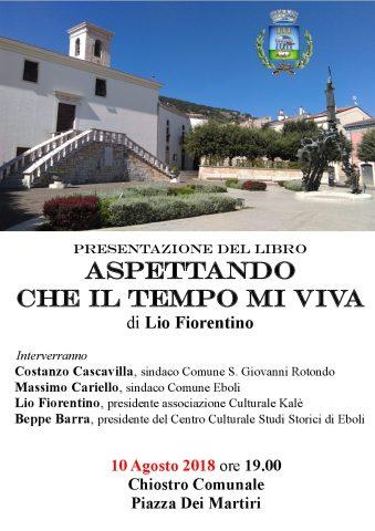 MANIFESTo presentazione libro Lio Fiorentino