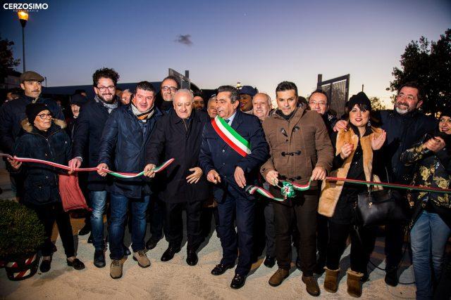 Inaugurazione Campo sportivo Bellizzi-mimmo Volpe-Vincenzo De Luca