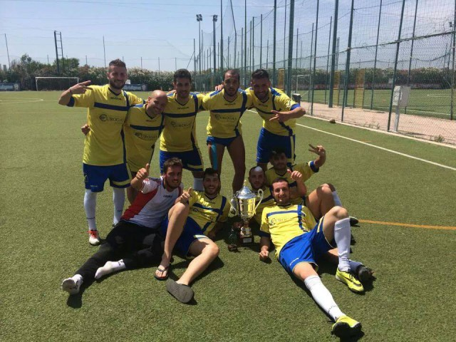 MSP SALERNO Campione Nazionale  Calcio a 7 - Sardegna 2014